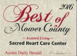 Assisted Living award 2016