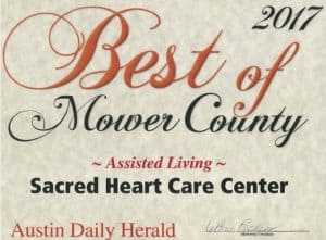 Assisted Living award 2017