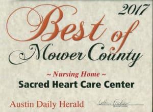 Austin Daily Herald Award